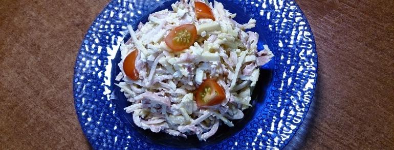 Салат из кальмара рецепт
